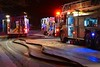 Colorado Springs Firefighters bring a house fire under control on Kern Circle. 12/22/2014