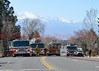 Colorado Springs Fire Department's, Fire Engines and Fire Trucks on the scene of a working structure fire in the 5100 block of Palmer Park Boulevard. March 29, 2015