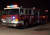 Security Fire Engine 113 on the scene of a house fire on Chimayo Drive.
