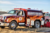Nice paint job on this water tender! I love it! :-)  Ellicott Fire Department's Tender 3366 on the job.