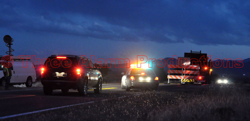 Colorado 67 is closed southbound from County Road 15 to Wetmore.