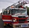"Lieutenant Matt Rasdall arriving on CHFD Ladder Truck 1331, along with CHFD Brush Truck 1340, on a wildland fire threatening to move thru a mobile home park off of Western Drive in Cimarron Hills, Colorado. See this location on Google Maps at: <a href=""http://goo.gl/maps/BkpR"">http://goo.gl/maps/BkpR</a>"