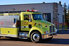 Falcon Fire Tender 362 en route to a wildfire in Ellicott, Colorado.
