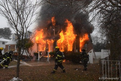 Amityville Working Fire 12-30-2017