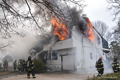 Brentwood Working Fire 03-24-2017