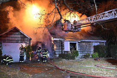 Central Islip Working Fire 11-22-2017