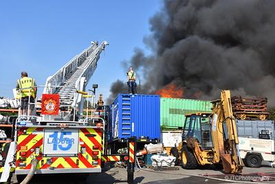 East Farmigdale Working Fire 07-21-2017