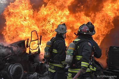 East Farmingdale Multiple Vehicle Fire 03-03-2018