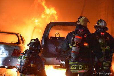 East Farmingdale Working Fire 01-10-2018