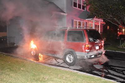 Massapequa Car Fire 09-28-2017