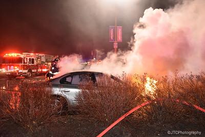 Massapequa Car Fire 12-22-2016