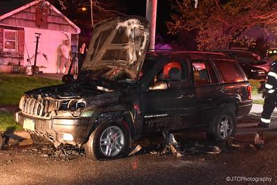 Massapequa Vehicle Fire 04-29-2017