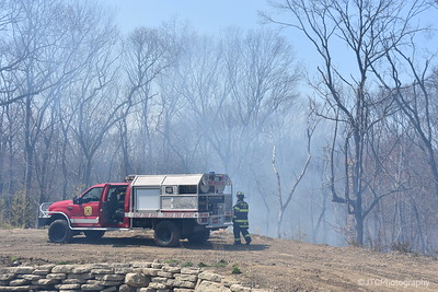 Melville Brush Fire 04-16-2017