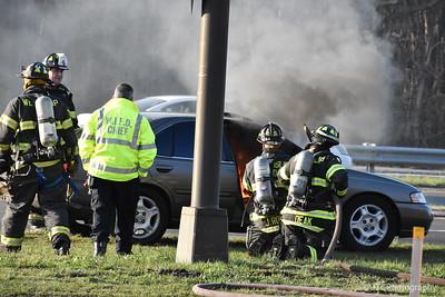 West Islip Vehicle Fire 04-17-2018