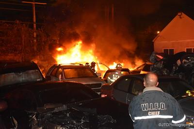 West Islip Vehicle Fire 11-22-2017