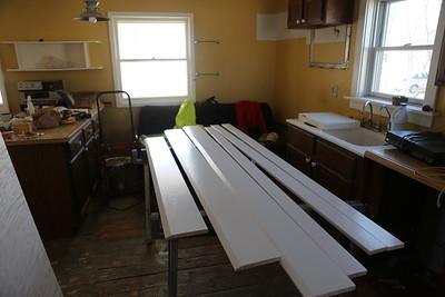 Paint the trim workspace.