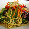 Pumpkin noodle salad