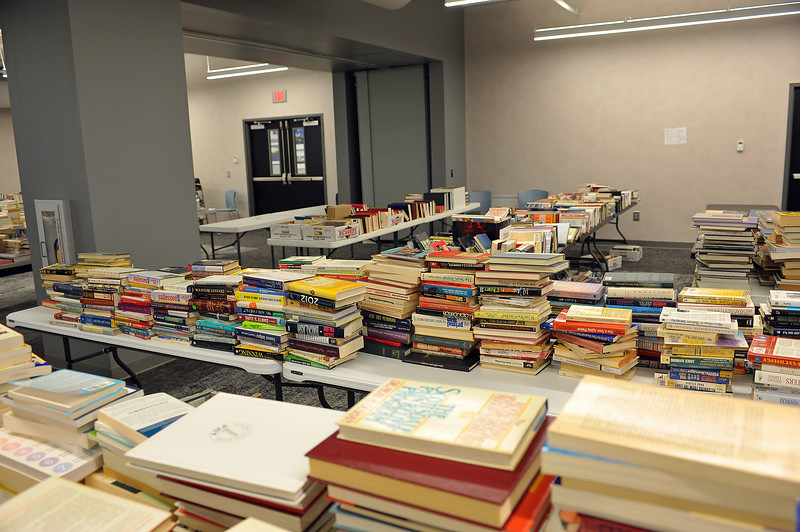 Friends of the Library Booksale August Breakdown 2019