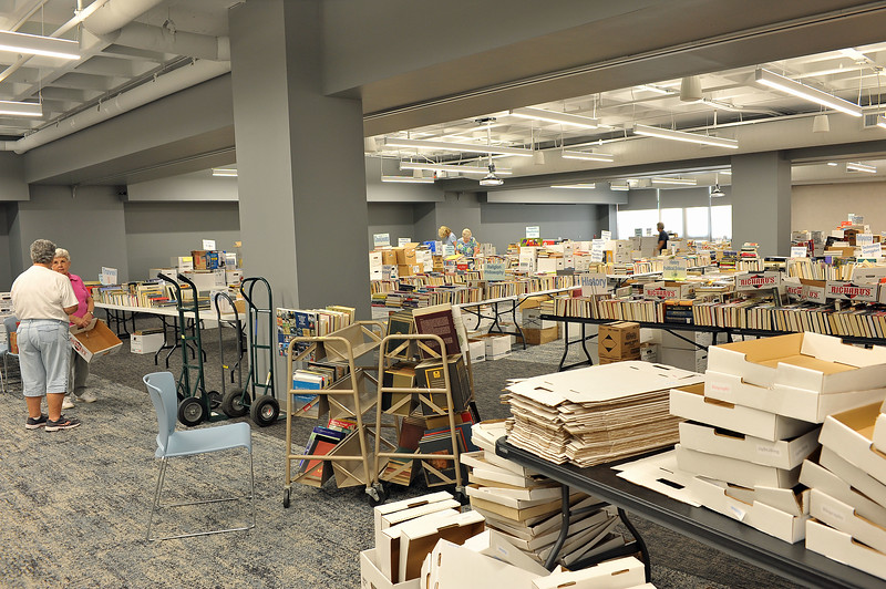 Friends of the Library Booksale August 2019