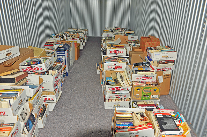 Friends of the Library Sorting at Warehouse 10-27-20