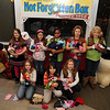 Girl Scouts donation to Not Forgotten Box :