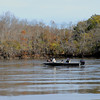Operations  in the Altamaha River near Altamaha Park in Glynn County near Brunswick, Georgia just before Thanksgiving in November 2008. Searchers include Glynn County EMA, Glynn County Police, Georgia DNR, Dog South and other agencies.