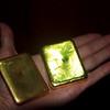 Estos dos bloques de oro juntos pesan un kilogramo. Según los mineros, si se continúa con la minería artesanal habrá oro para 400 o 500 años más, mientras que las multinacionales lo quieren explotar en 15 años.