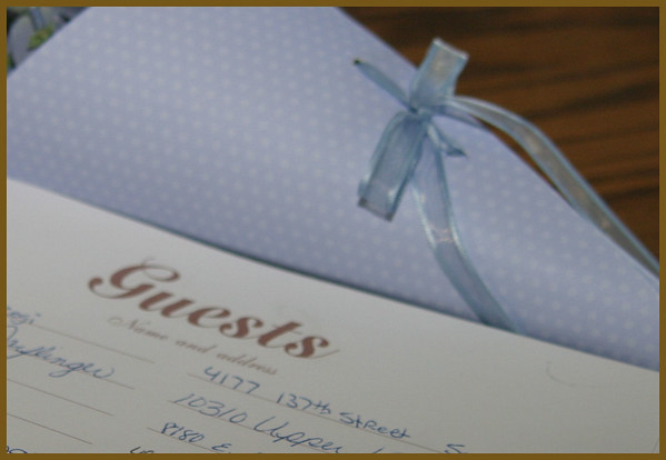 Guest Book - Please leave a note