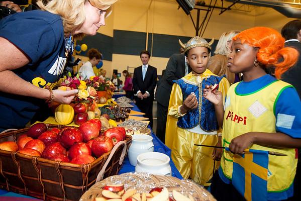 HRH Prince Daniel of Sweden Visits Miner Elementary in Washington, DC (September 26, 2011)