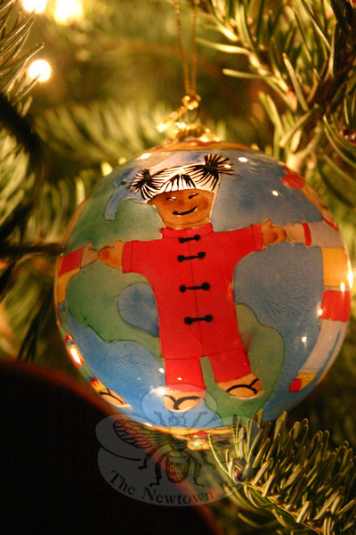 Ornaments on Christmas trees are as personal as the people and families they represent.  (Hicks photo)