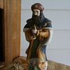 Detail of the creche at Newtown United Methodist Church.  (Hicks photo)