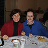 Linda and Breanne Lubinsky were among those who filled The Alexandria Room at Edmond Town Hall last weekend, when The Rotary Club of Newtown presented its 50th Annual Pancake Breakfast.  (Crevier photo)