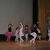 Little ballerinas practiced on Saturday morning in the Edmond Town Hall theater, in preparation Sunday's performances of Nutcracker Suite.  (Crevier photo)