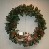 A wreath donated by Coldwell Banker was part of this year's Festival of Trees at Booth Library.  (Crevier photo)