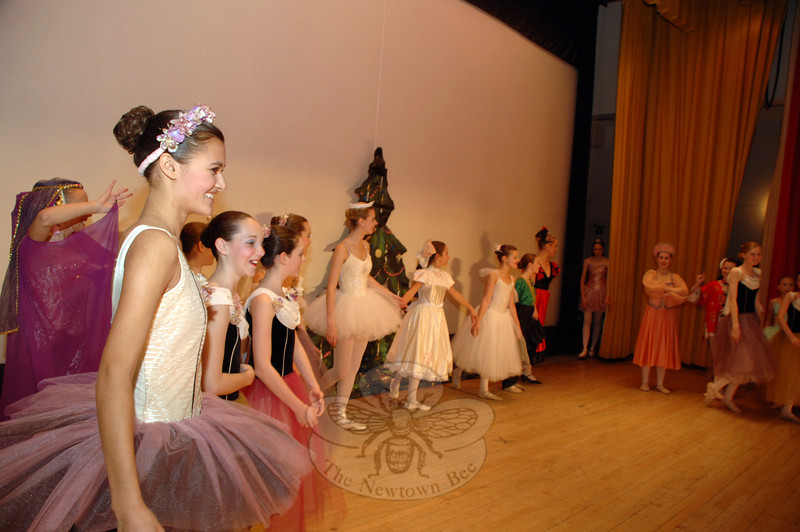 """Malenkee Ballet Repertoire Company dancers offered two performances of """"The Nutcracker Suite"""" during Sunday's Holiday Festival.  (Bobowick photo)"""