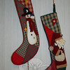 Whimsical stockings found their way into the Holiday Festival's Festival of Trees this year.  (Crevier photo)