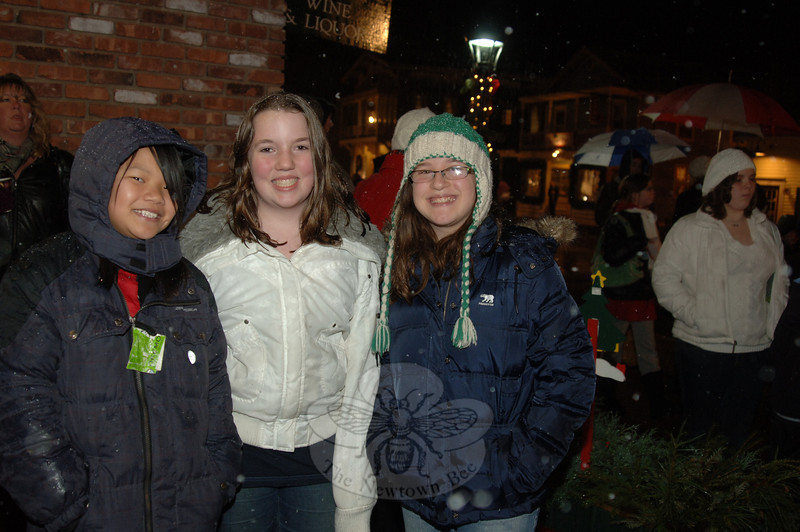 Sandy Hook tree lighting.  (Bobowick photo)