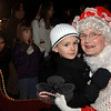 Meeting Mrs Claus at the tree lighting at Ram Pasture on Friday, December 4, 2009.  (Bobowick photo)