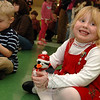 Children enjoyed live entertainment during Breakfast With Santa.  (Bobowick photo)