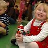 Children enjoyed live entertainment during Breakfast With Santa.  (Bobowick photo)