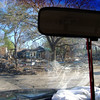 Hurricane Katrina damaged neighborhood in Ocean Springs, Mississippi