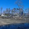 Hurricane Katrina damage - debris field