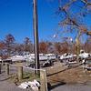 Hurricane Katrina damaged boats in Ocean Springs, Mississippi