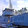 Hurricane Katrina Damage - Salvage Operations in the Industrial Canal - Gulfport, Mississippi