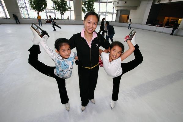 Ice Skating w/ Chen Lu