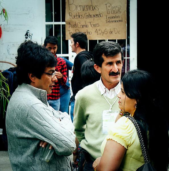 Encuentro internacional: Pueblos construyendo paz