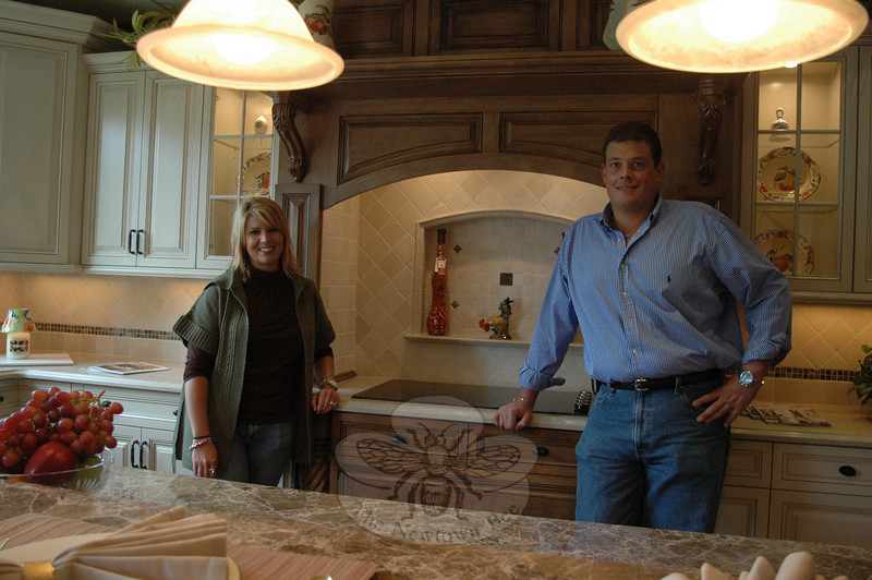 Marketing director Amy Borysewicz and Marc Sterling Hankey, owner and founder of both a general contracting company that bears his name and the newly expanded Architectural Kitchens & Baths.  (Voket photo)