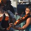 Ashleigh Gordon (right) on viola.