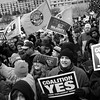 Coalition 'Yes' Toronto rally :