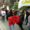 Mamaweswen, The North Shore Tribal Council Stop the Cuts rally :